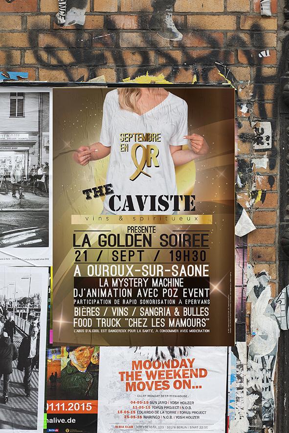 The caviste- golden soirée